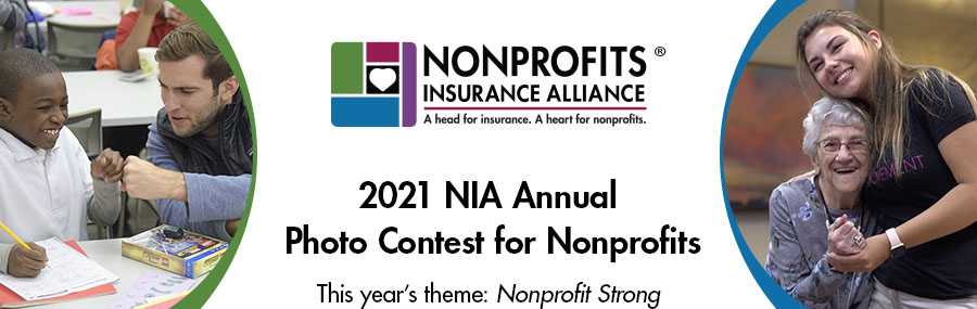 2021 NIA Annual Photo Contest - This year's theme: NONPROFIT STRONG